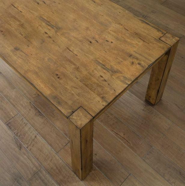 Rustic Wood Table Vintage Chair 7 for
