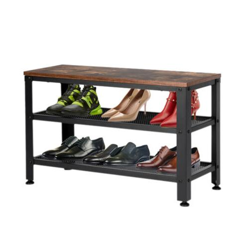 Shoes Rack, Storage Seat for Hallway