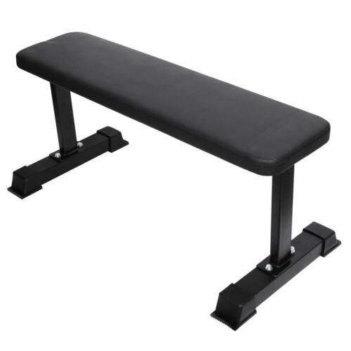 strength flat utility bench weight lifting gym
