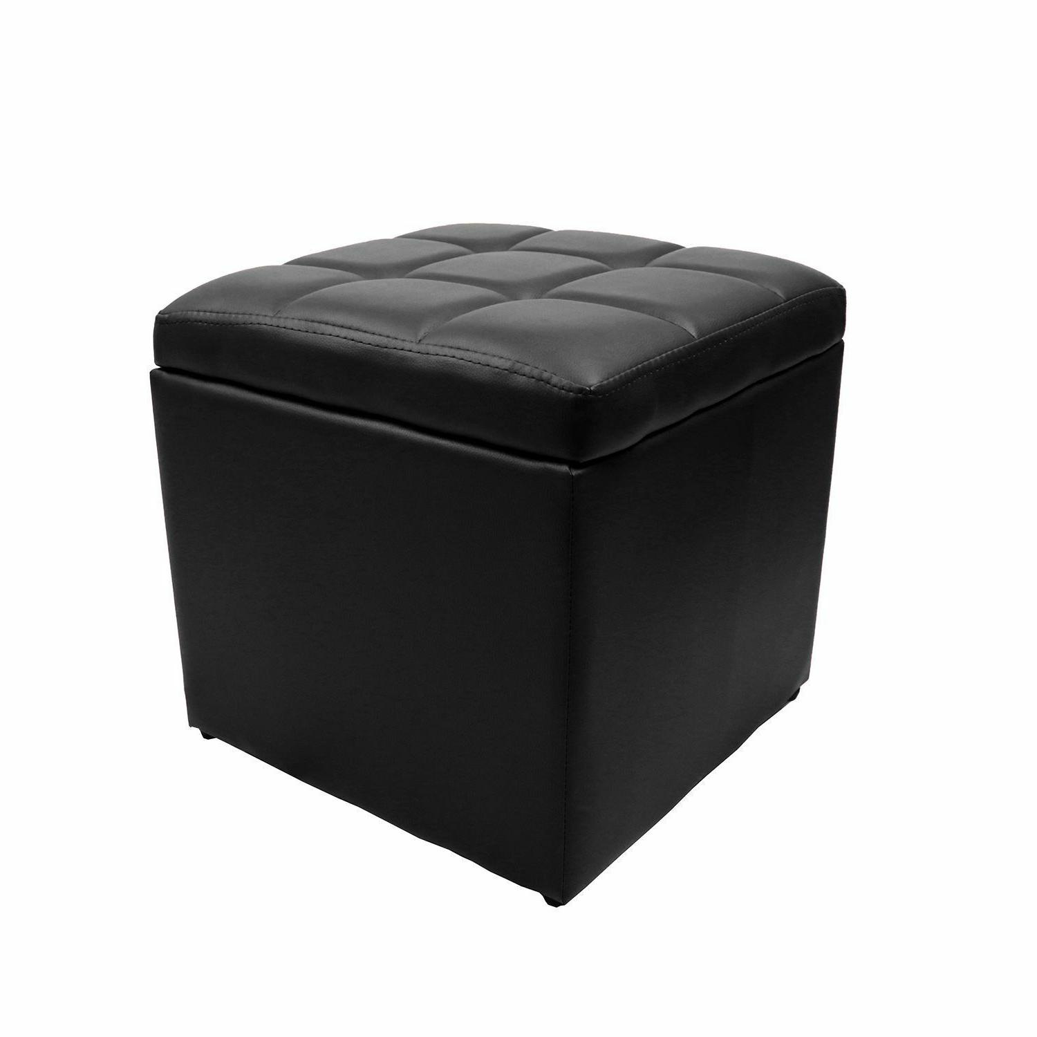 Strong Ottoman Bench Footstool Table Cocktail Square