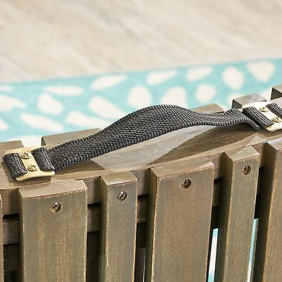 Foldable Chaise Gray