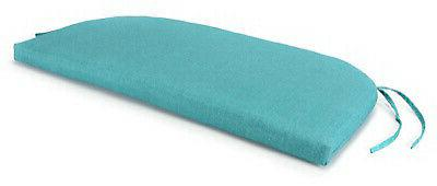 uptown bench cushion turquoise