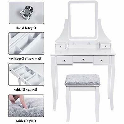 Vanities Vanity Benches With Stool Table 5