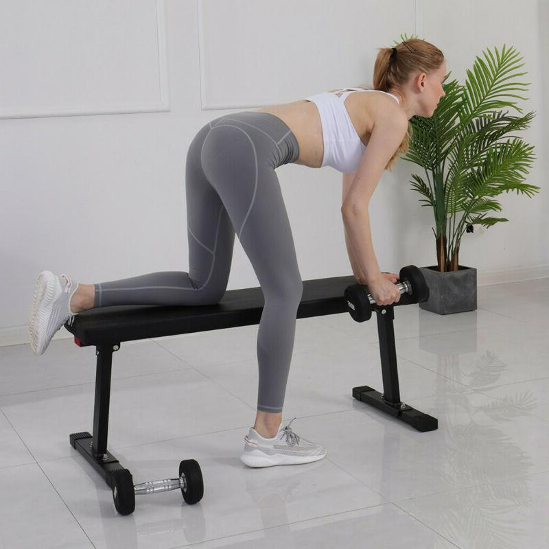 Foldable Adjustable Up Abdominal Press Weight Gym Ab Exercise