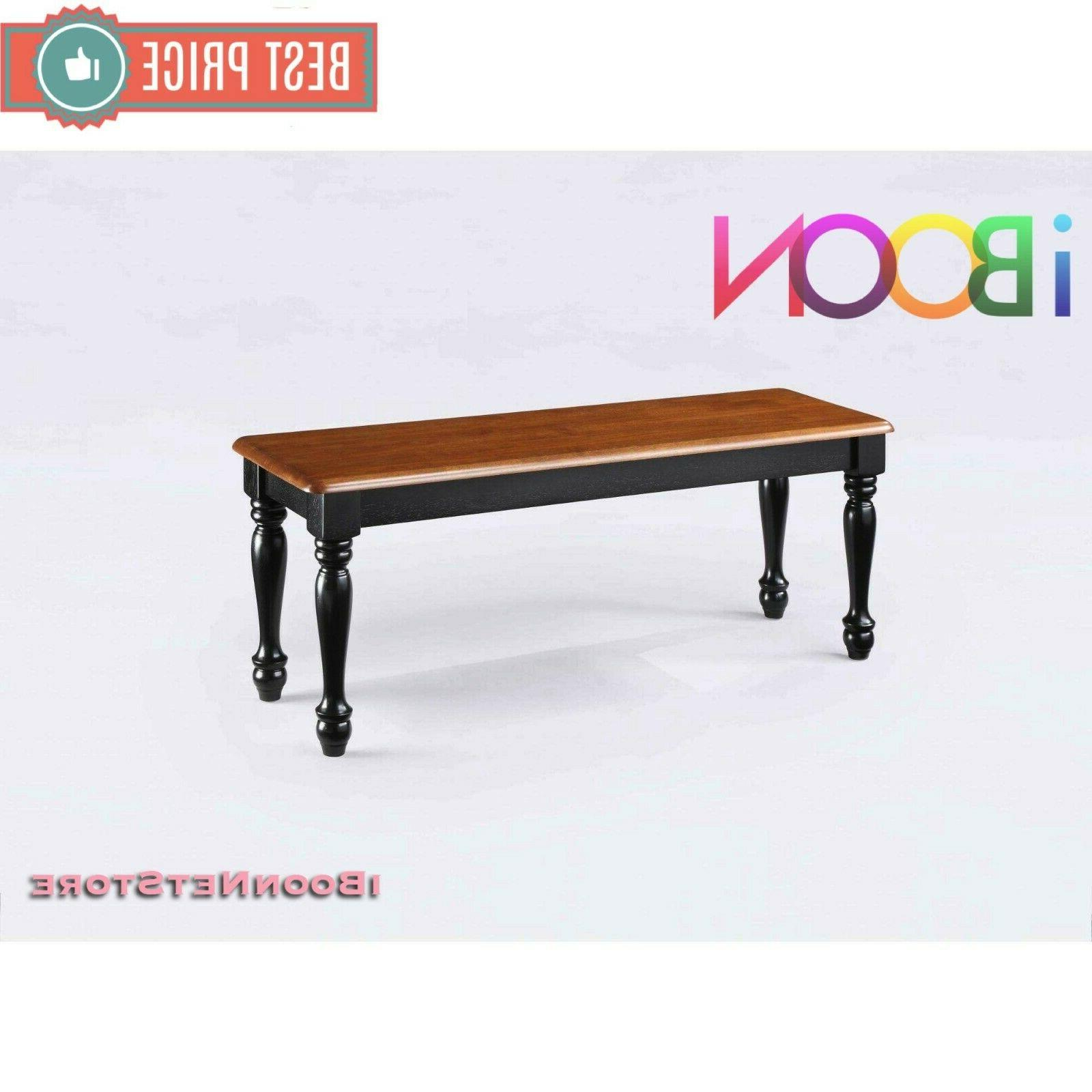 Wood Seat Home Furniture Room Black Color Seat