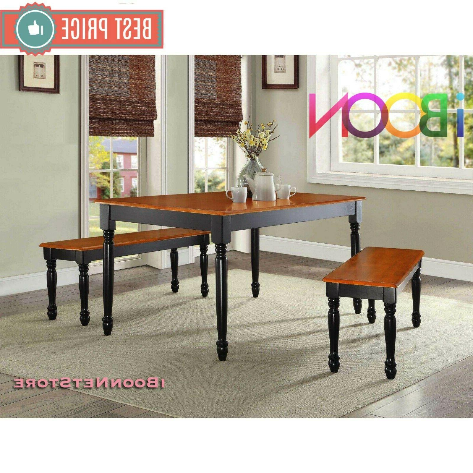 Wood Dinning Bench Seat Furniture Dining Room Seat