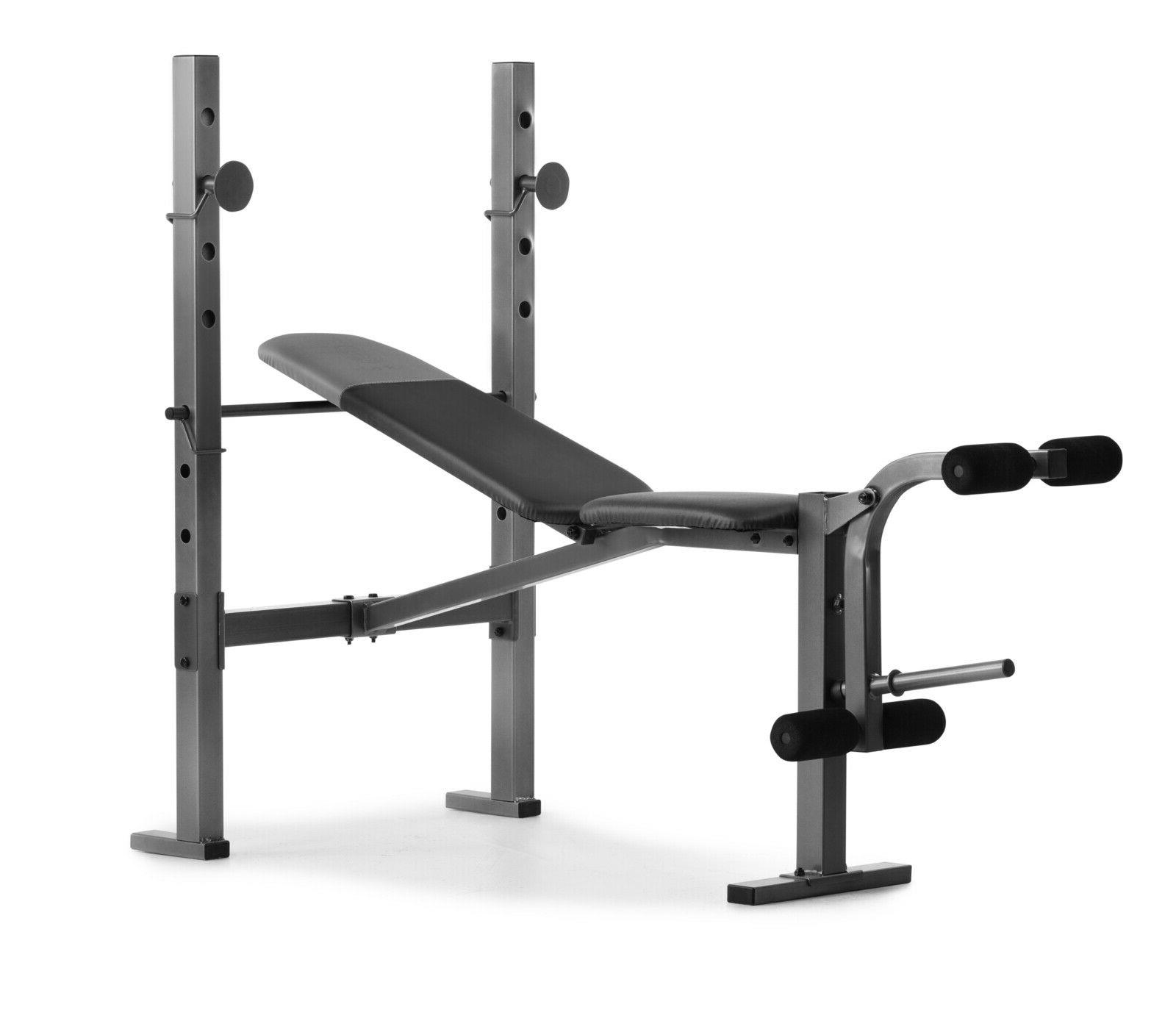 Weider Weight with Leg Developer and Exercise