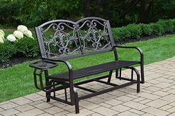 Lakeville Double Glider with Side Tray
