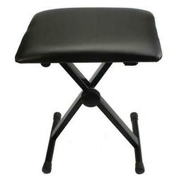 New Adjustable X Style Chair Piano Keyboard Bench Leather Pa
