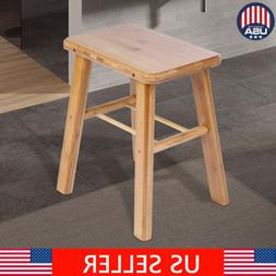 New Wooden Shower Stool Wood Bathroom Bench Seat Bamboo Bath