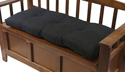 The Gripper Non-Slip Tufted Omega Universal Bench Cushion 36