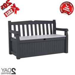 Outdoor Bench Keter Storage Bench Deck Box for Patio Outdoor