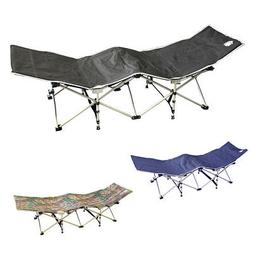 Evelyne Outdoor Camping Folding Travel Cot Bench Lounge Chai