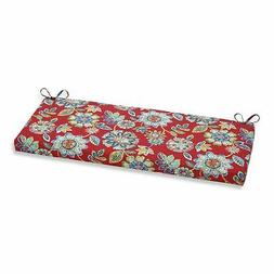 Pillow Perfect Outdoor/ Indoor Daelyn Cherry Bench Cushion R