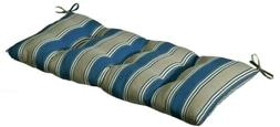 Pillow Perfect Outdoor/ Indoor Hamilton Blue Swing/ Bench Bl