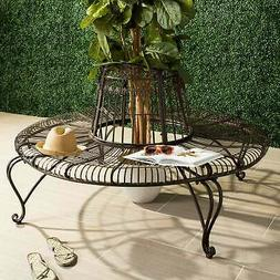 Safavieh Outdoor Living Ally Darling Brown Wrought Iron Tree