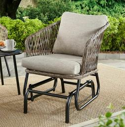 Patio Glider Clearance Porch Outdoor Wicker Chair Furniture