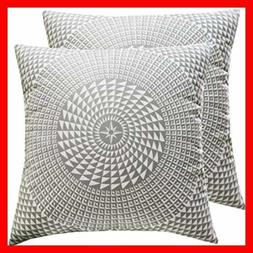 Printed Decorative Throw Pillow Covers Cushion For Indoor Be