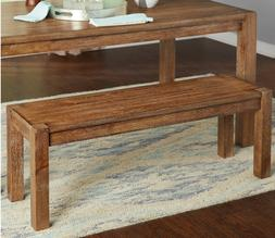 Rustic Farmhouse Dining Bench Kitchen Entryway Hall  Distres