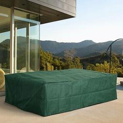 Outsunny Outdoor Sofa Sectional Patio Furniture Set Cover Gr