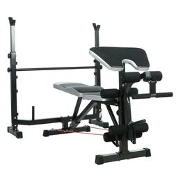 Strength Training Bench Cap Barbell Olympic Bench With Leg E
