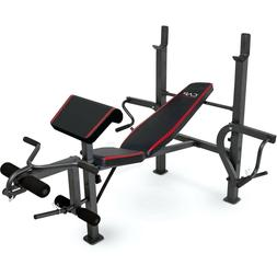 CAP Strength Weight Bench Press with Butterfly and Preacher