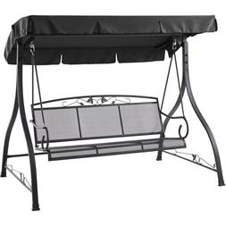 Outdoor Swings With Canopy Adults Patio Backyard Deck Furnit
