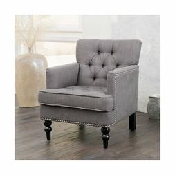 Great Deal Furniture Tufted Club Chair, Decorative Accent Ch
