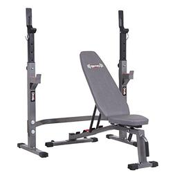 Two Piece Set Olympic Weight Bench with Squat Rack BCB3835 /