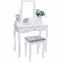 vanities vanity benches set with mirror cushioned