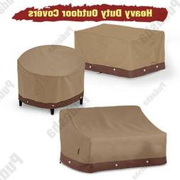 Waterproof Patio Furniture Cover Outdoor Table Chairs Bench