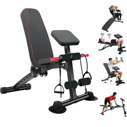Weight Bench Adjustable Flat Incline /Decline Exercise Worko