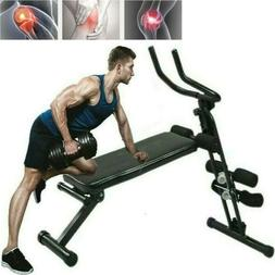 weight bench adjustable flat incline decline exercise