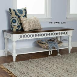 Wood Bench Dining Table Seats Kitchen Entrance Hall Stool Si
