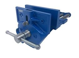 Woodworking Bench Vise Rapid Acting Blue Power Hand Tools Ho