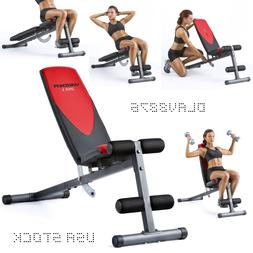 Workout Bench Decline Ab Weight Fitness Incline Exercise Adj
