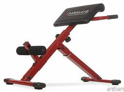 Stamina X HYPER BENCH Adjustable Abs Back Extension Exercise