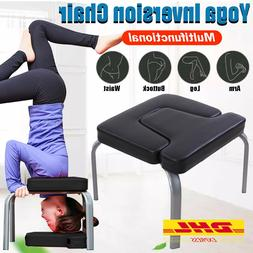 Yoga Chair Aids Workout Headstand Stool Sports Bench Fitness