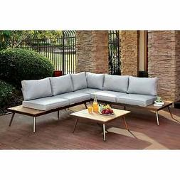 Furniture of America Yulee Contemporary Outdoor L-shaped Lig